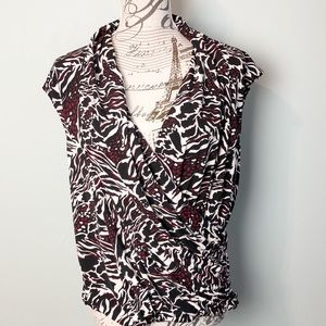 Laundry by Shelli Segal blouse size medium